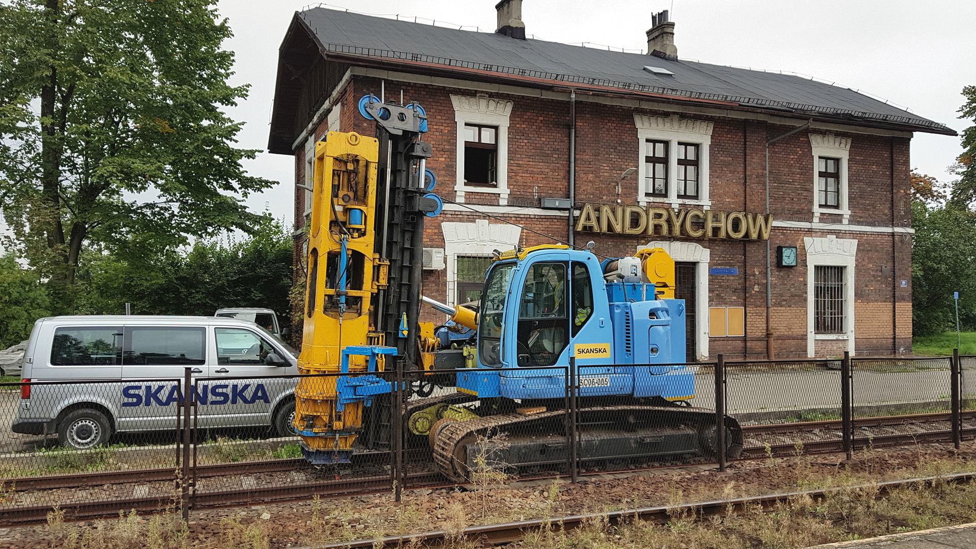 Na trasie Andrychów - Wadowice pociągi przyspieszą do 80 km/godz.