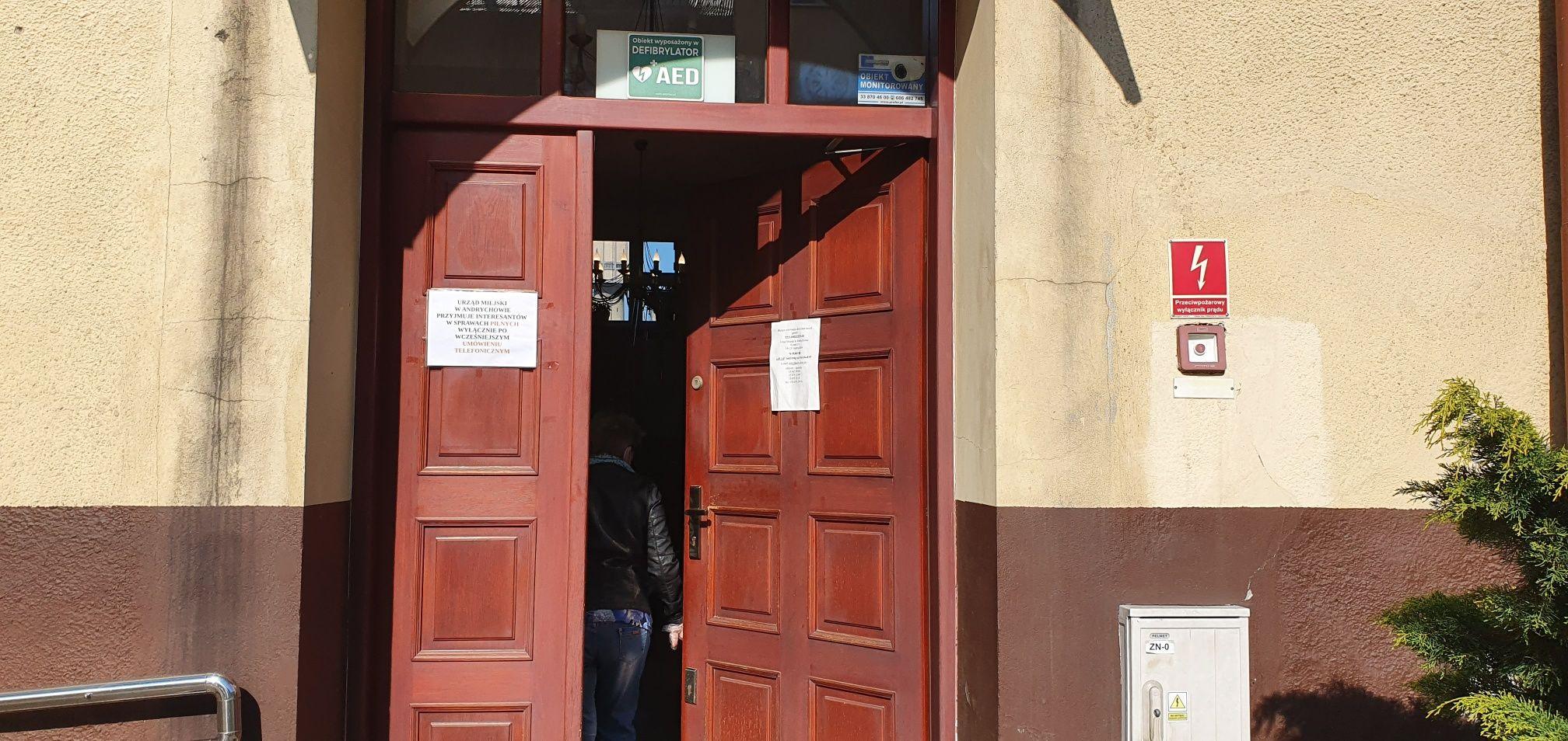 Koronawirus w magistracie w Andrychowie