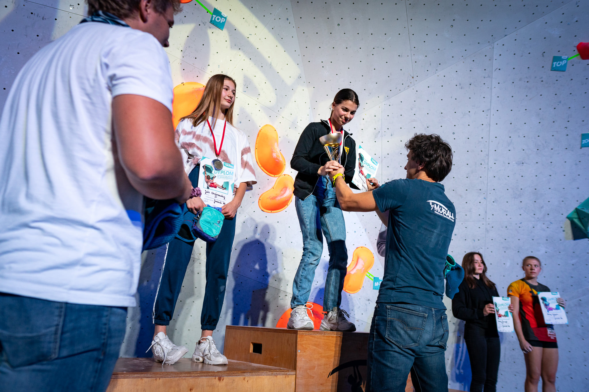 Danuta Słanek Mistrzem Polski 2020 w Boulderingu