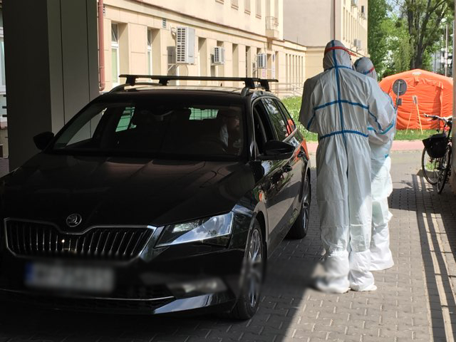 Testy na koronawirusa w Kętach