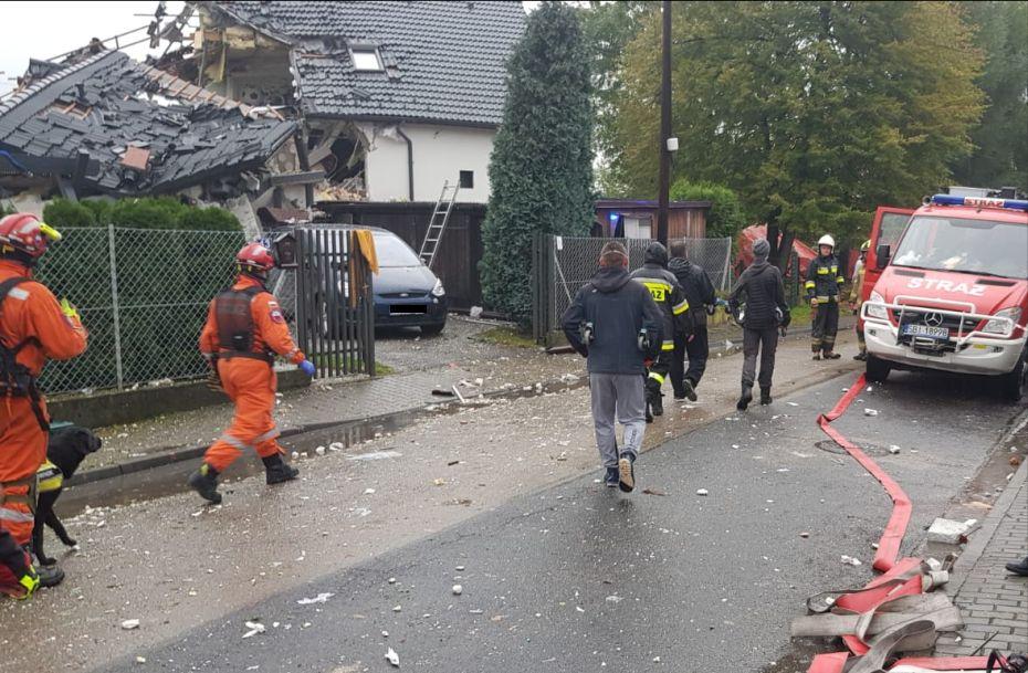 Wybuch gazu w budynku mieszkalnym [AKTUALIZACJA]