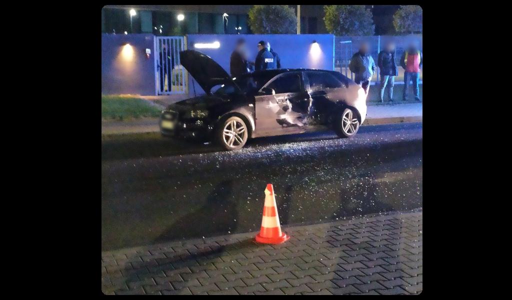 Dramatyczny wypadek na drodze obok restauracji McDonald's [FOTO] [AKTUALIZACJA]
