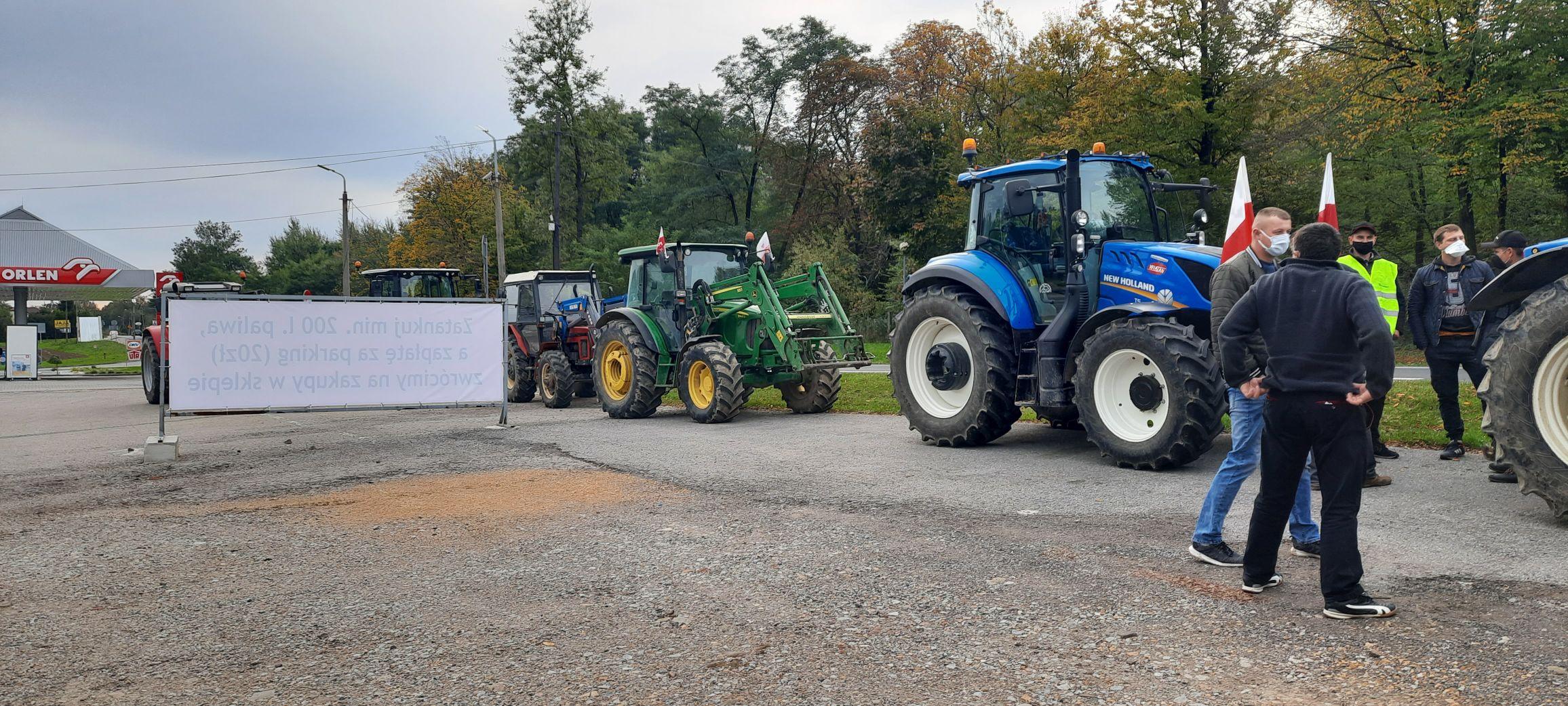 Rolnicy protestują. Możliwe utrudnienia na drogach
