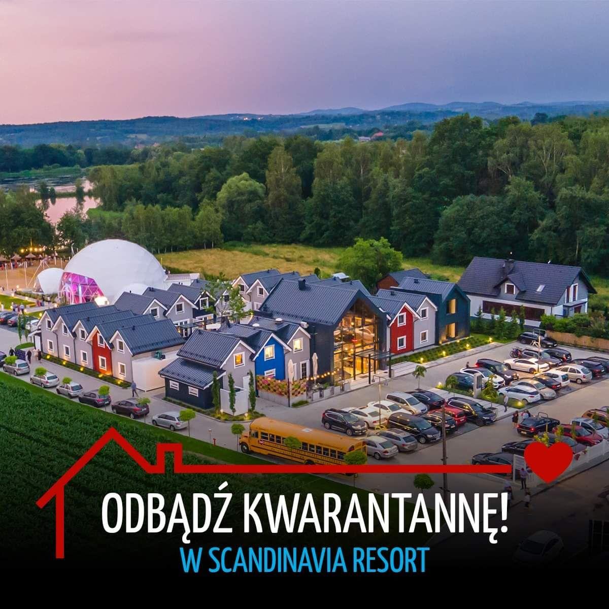Odbądź kwarantannę w Scandinavia Resort [VIDEO]