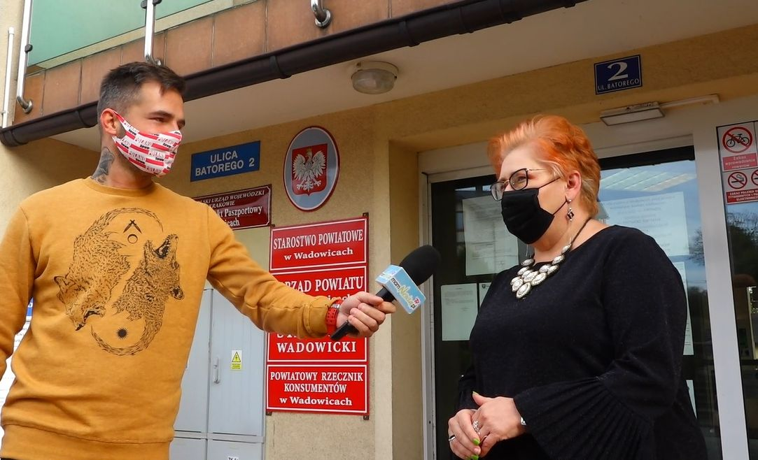 Wicestarosta Beata Smolec o aktualnej sytuacji w szpitalu