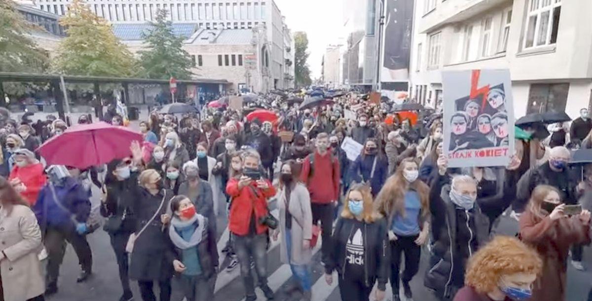 Na środę planowany jest Strajk Kobiet w Wadowicach