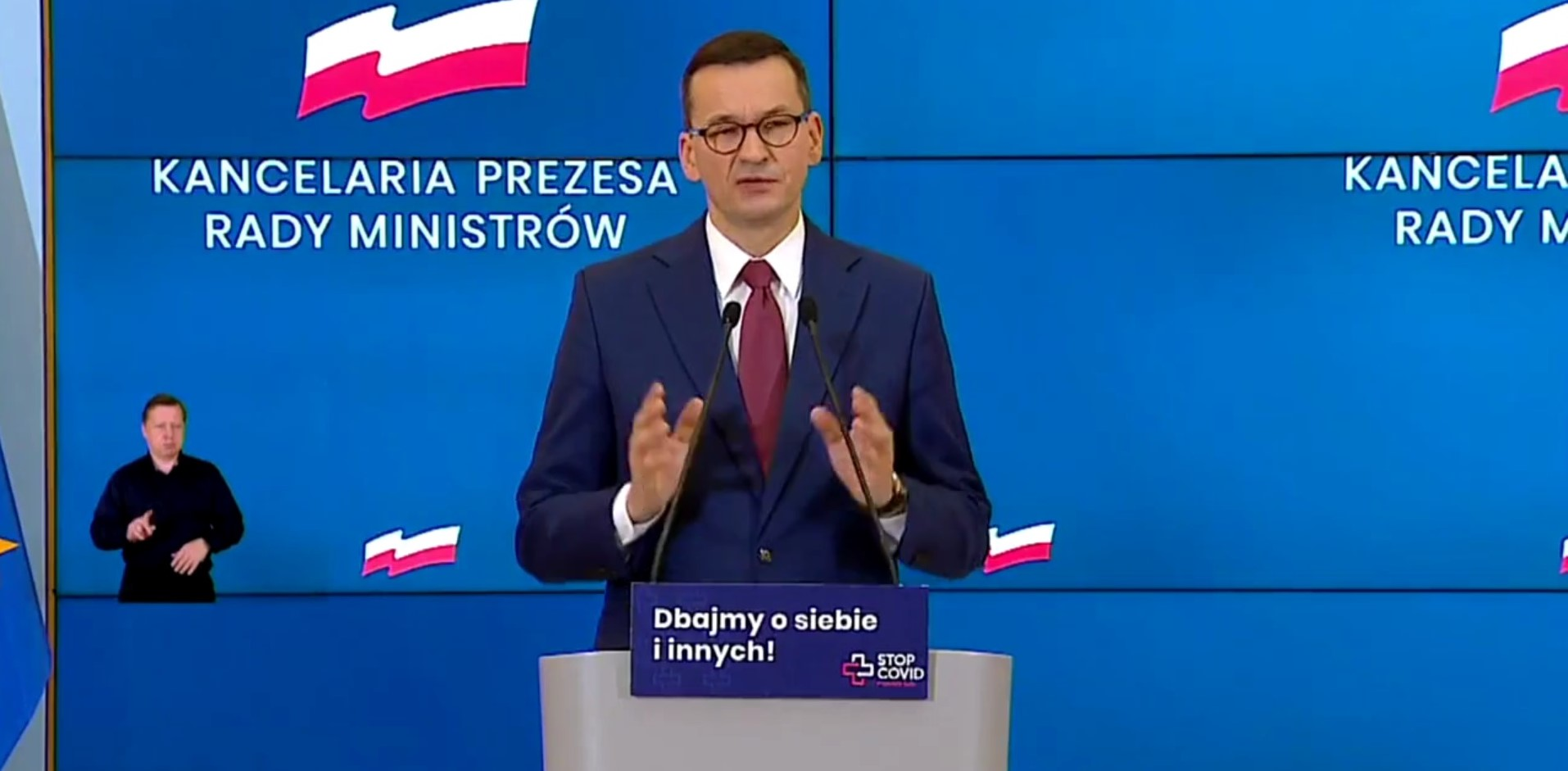 Premier zabrał głos w sprawie wyroku Trybunału i protestów