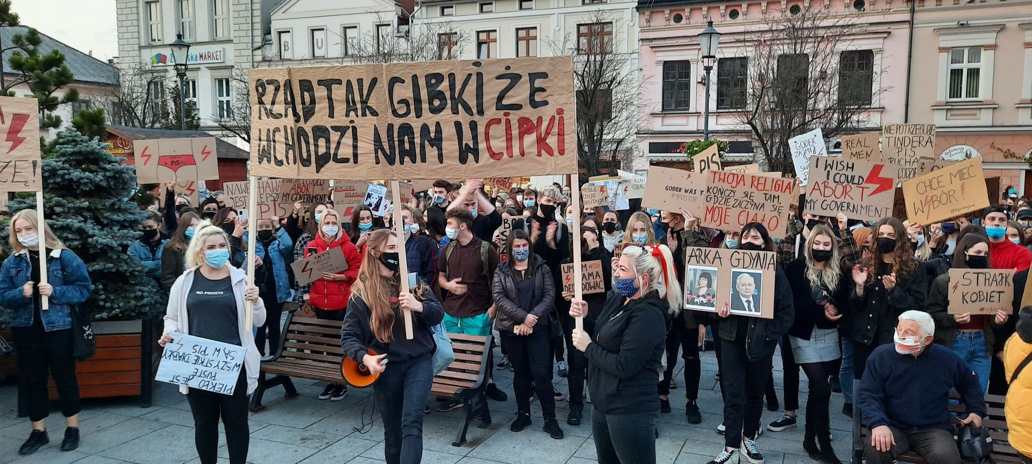 Strajk Kobiet w Wadowicach [VIDEO] [FOTO] [AKTUALIZACJA]