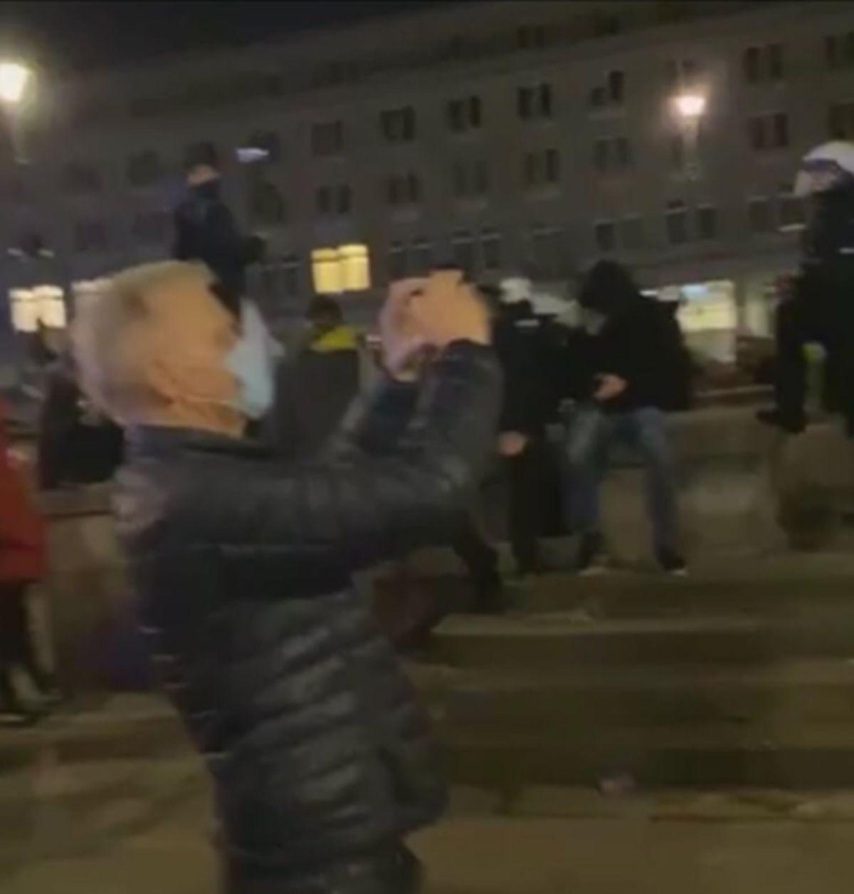 Polityczna awantura o udział starosty w manifestacji
