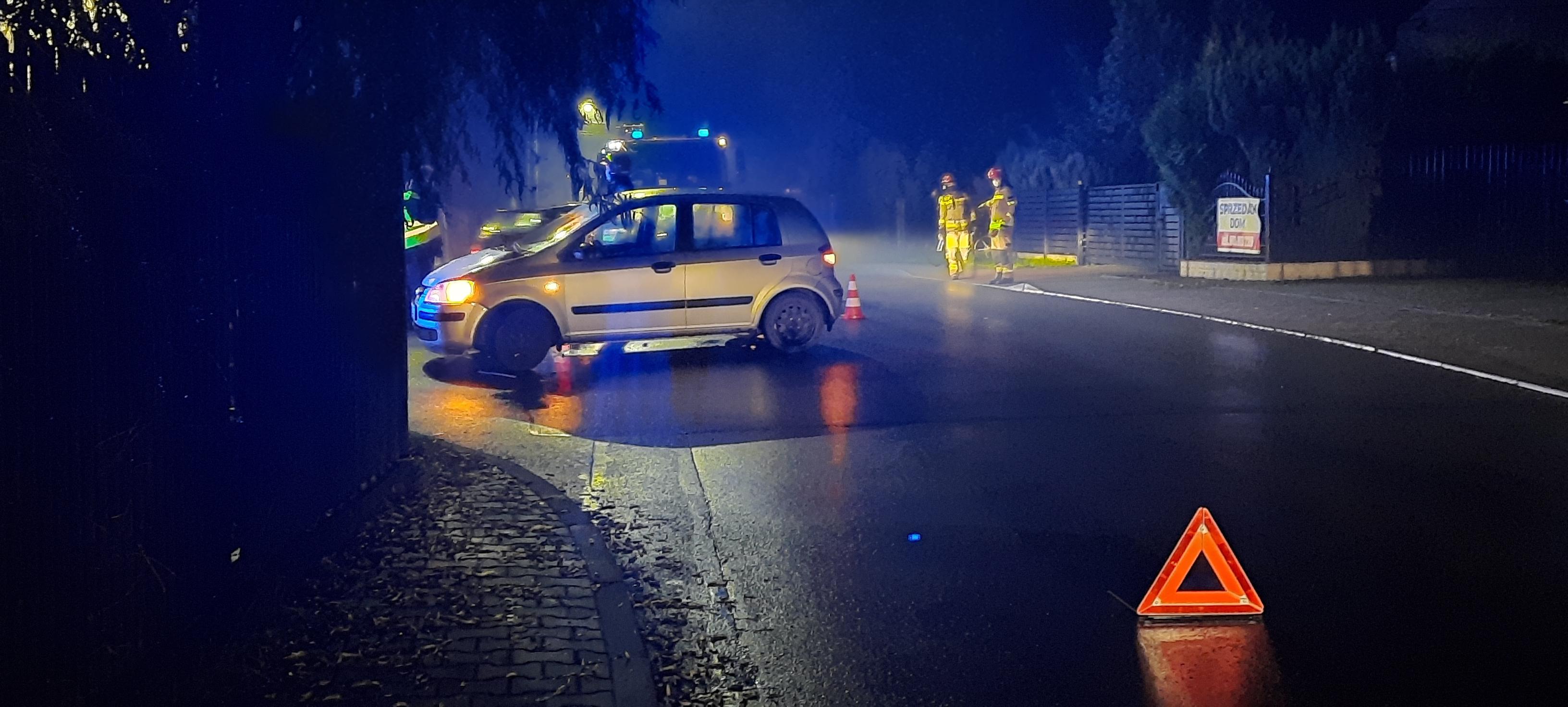 Zderzenie na skrzyżowaniu w Andrychowie
