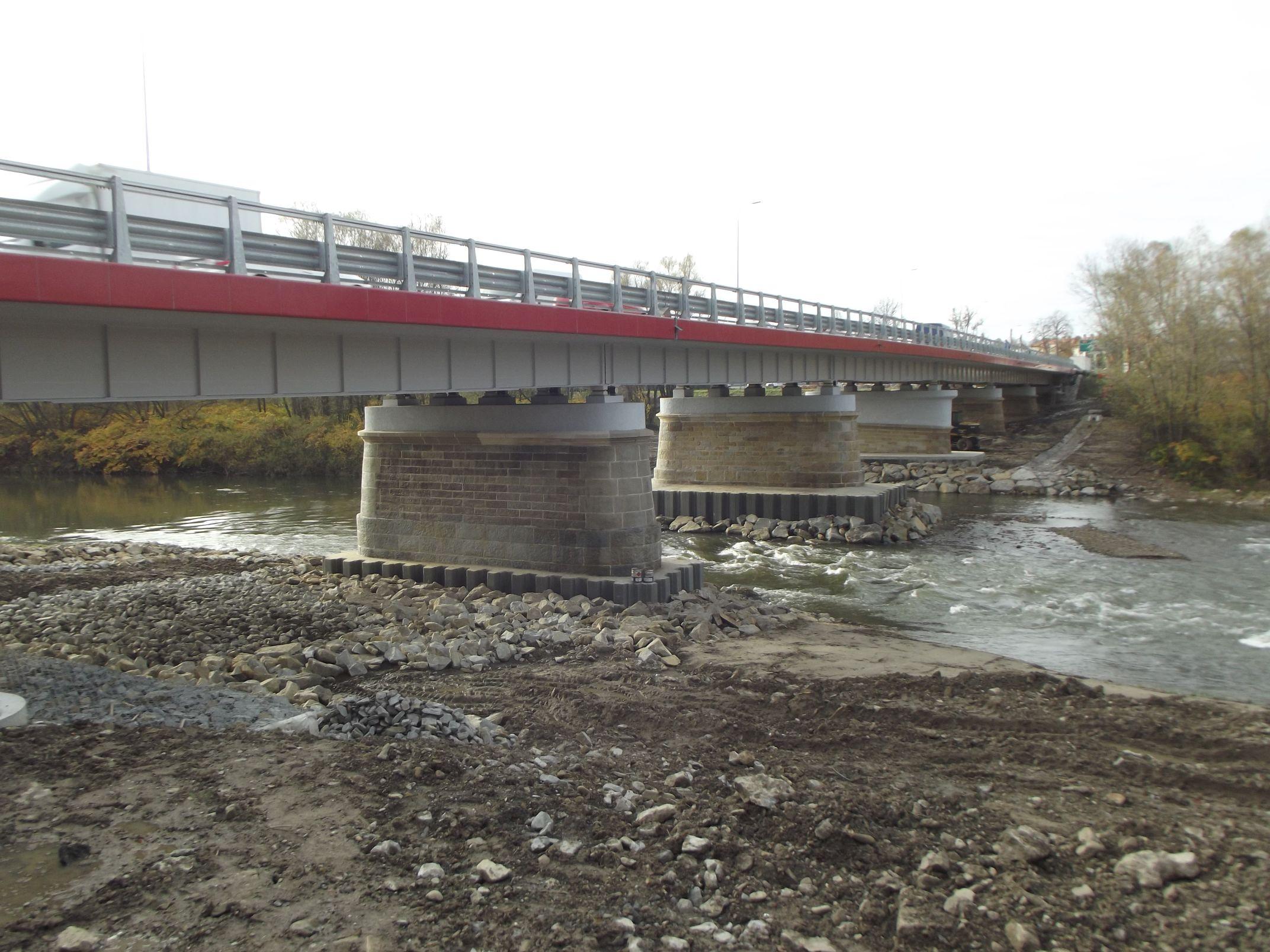 Most na Skawie już gotowy