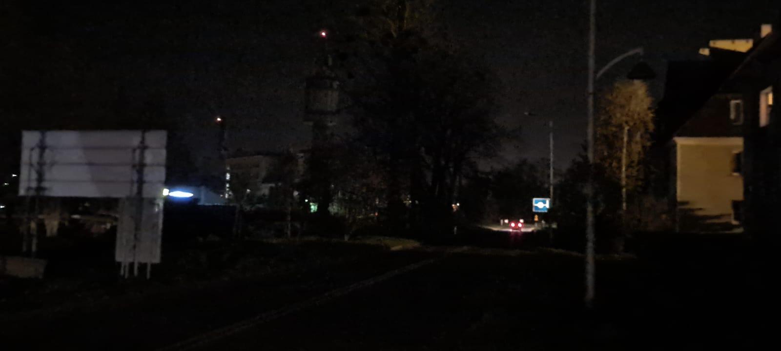 Na andrychowskiej ulicy zapanowały ciemności