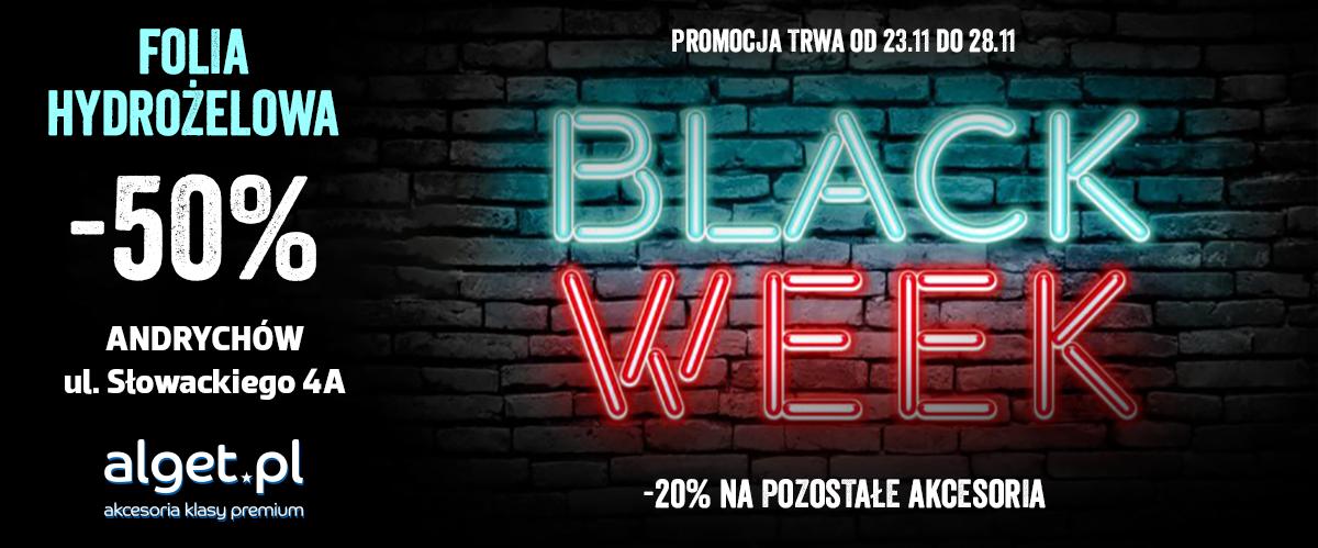Wyjątkowe promocje Black Week w sklepie Alget!