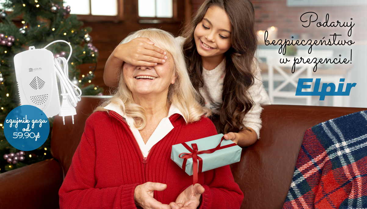 Pomysł od firmy ELPIR na bezpieczny prezent na Święta.