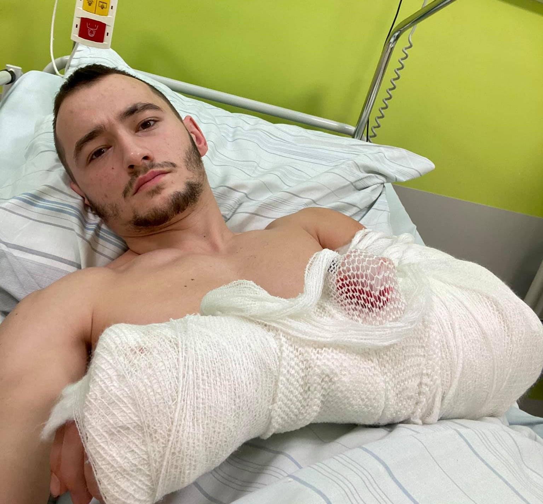 Poszkodowany motocyklista zabrał głos