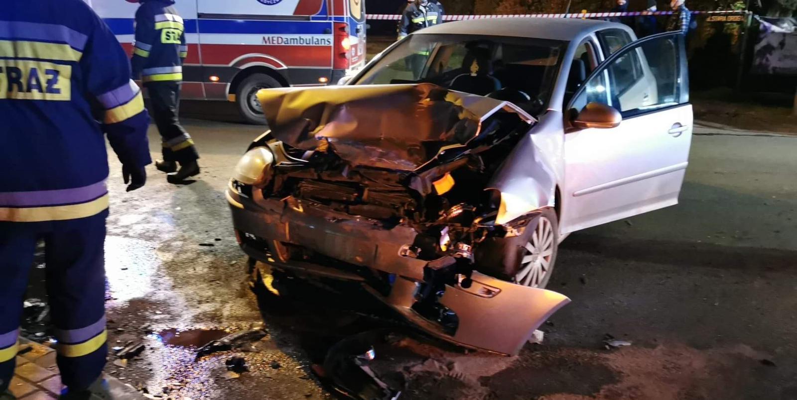 Poważny wypadek w piątkowy wieczór [AKTUALIZACJA]