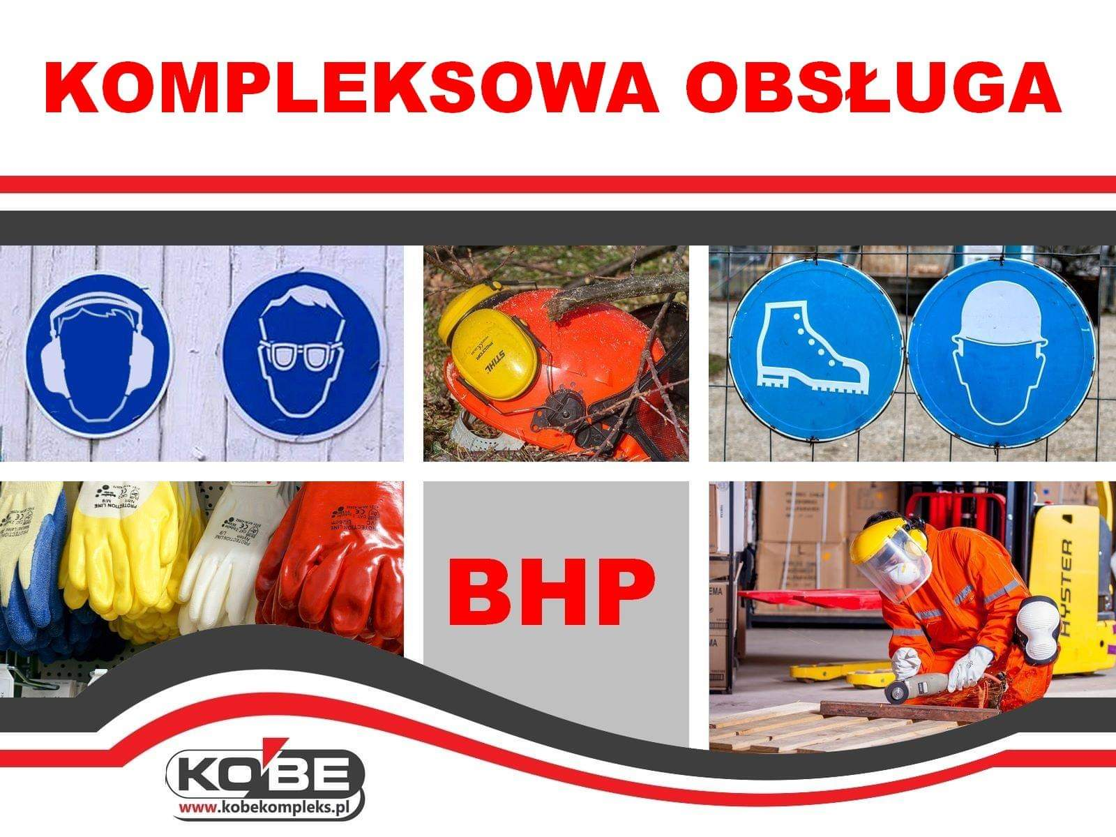 Kompleksowa obsługa BHP tylko w KOBE