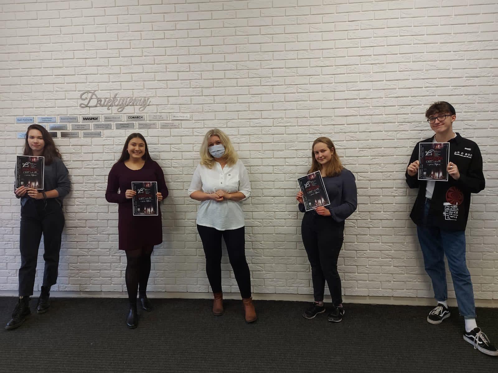 Uczniowie z LO Andrychów wyróżnieni na małopolskim festiwalu talentów [FOTO]