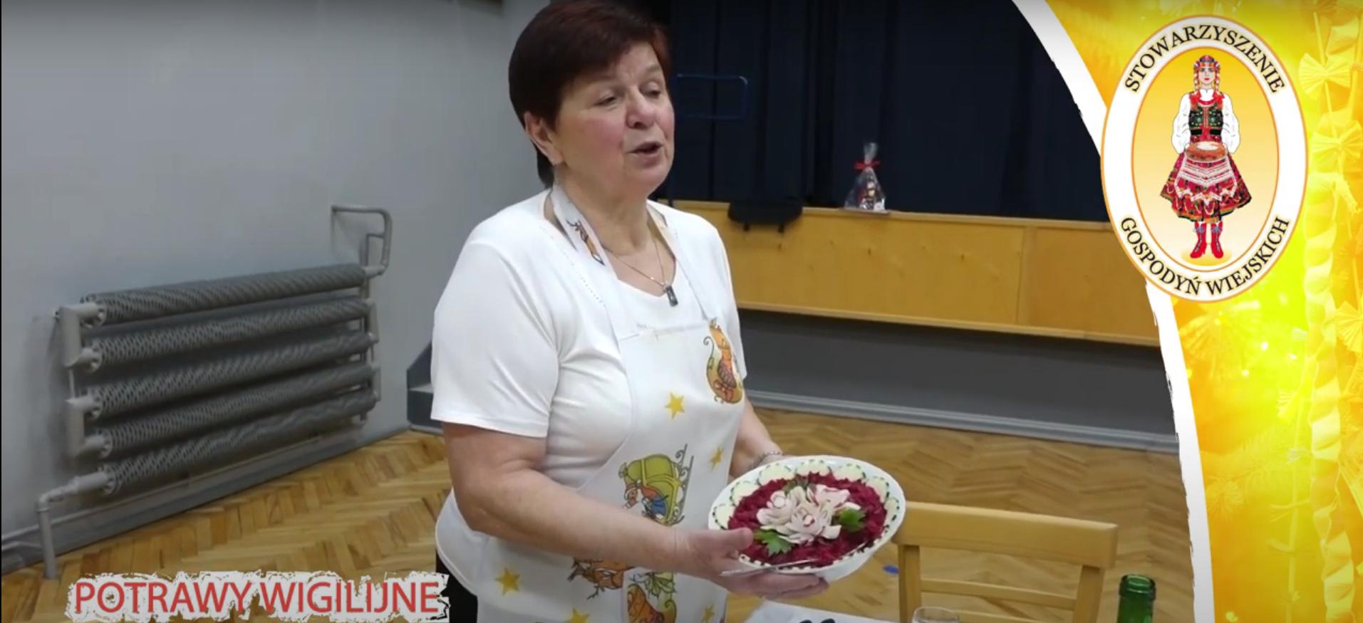 Gospodynie z gminy Andrychów z potrawami świątecznymi [VIDEO]