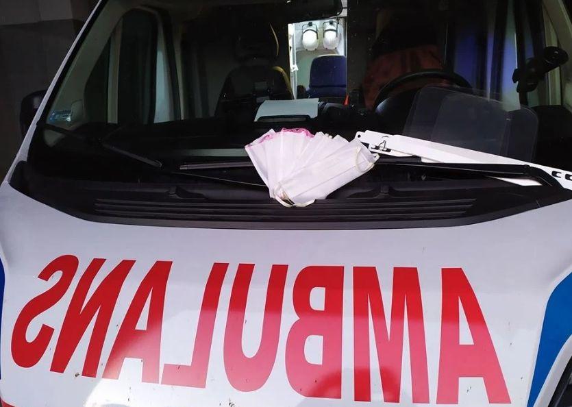 Jedna osoba poszkodowana podczas rozpalania pieca