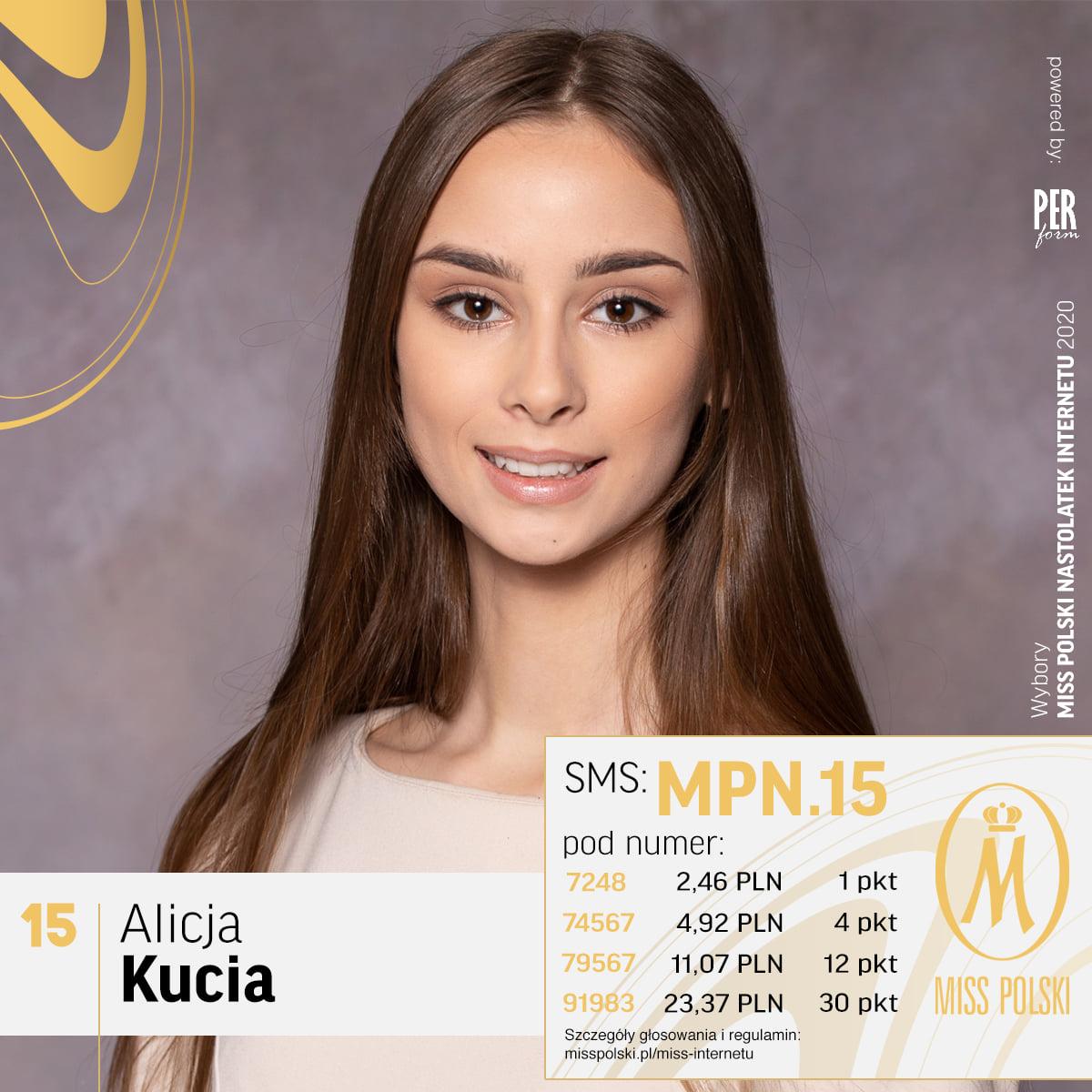 Alicja Kucia powalczy w piątek o tytuł Miss Polski Nastolatek [FOTO]