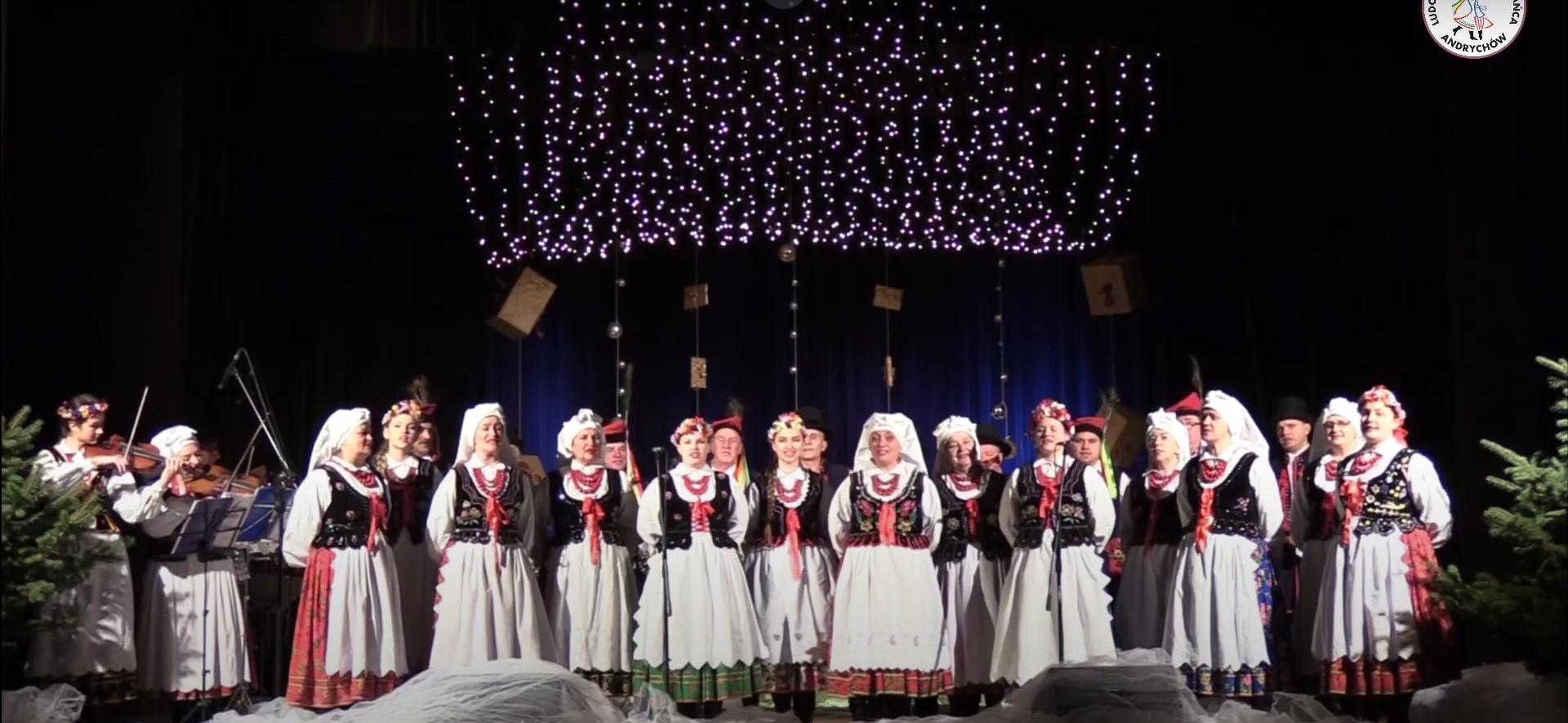 Koncert noworoczny zespołu ANDRYCHÓW do obejrzenia w sieci