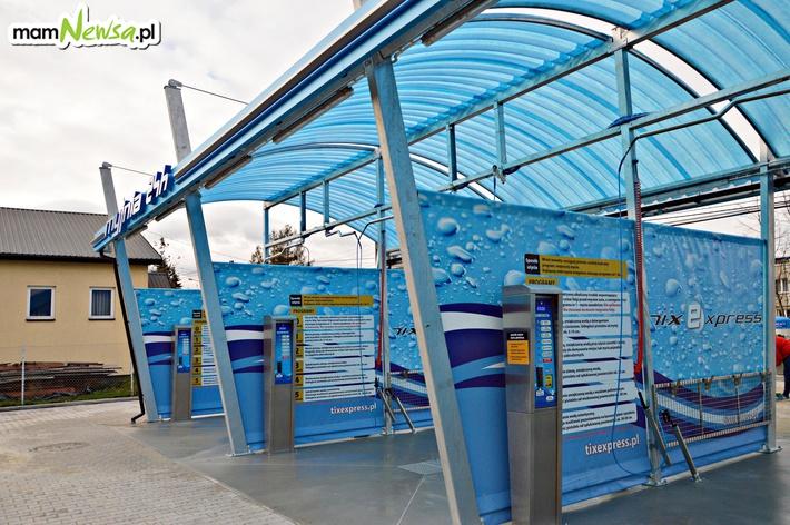 Nowoczesna samoobsługowa myjnia samochodowa na ulicy Batorego w Andrychowie
