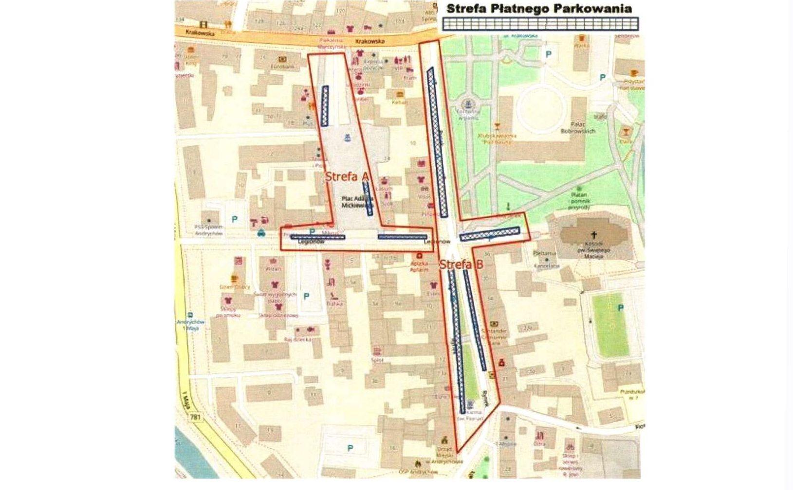 Kierowcy zapłacą za parkowanie na placu Mickiewicza i ulicy Legionów