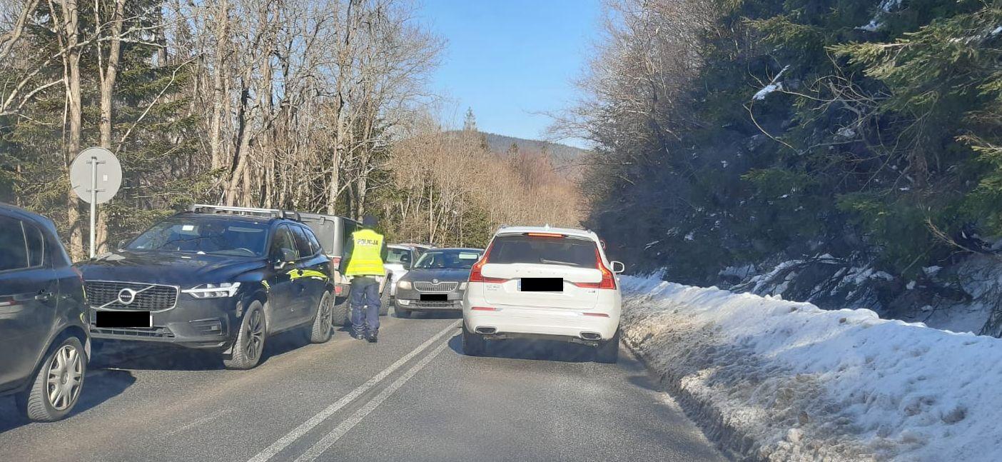 Góry oblężone, do akcji musiała wkroczyć policja