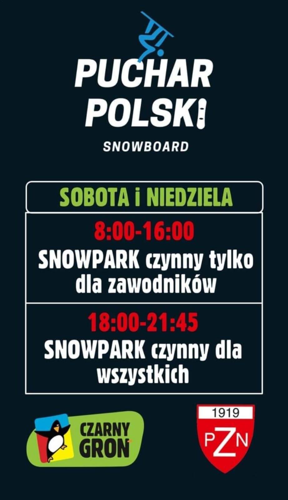 W weekend Puchar Polski na Czarnym Groniu