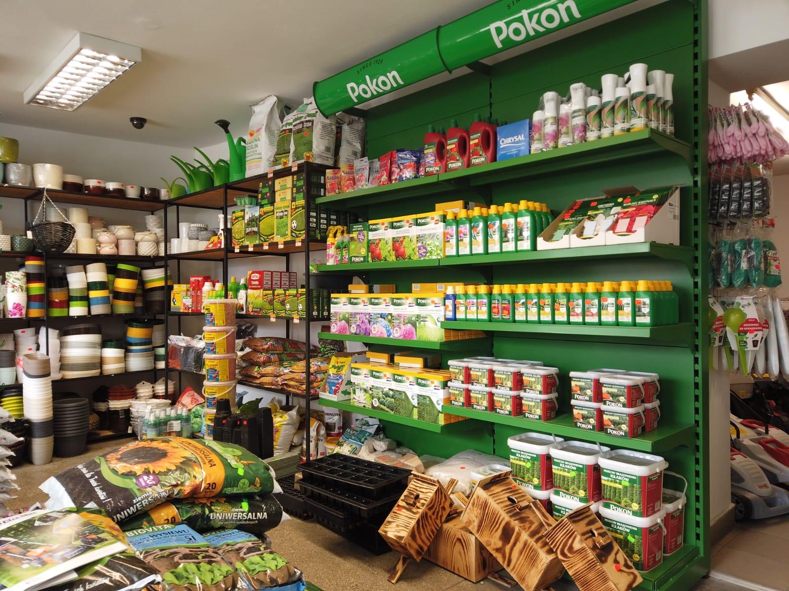 Świetnie zaopatrzony sklep ogrodniczy w centrum Andrychowa